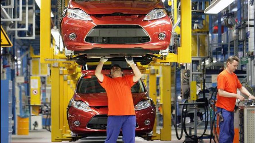 Ford a tutto gas, produzione aumentata per seguire la domanda