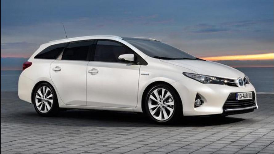 Toyota Auris Touring Sports, al via la produzione