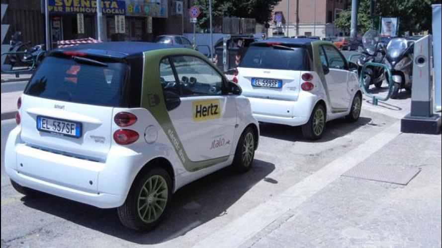 """smart e Italo, il treno di Montezemolo, insieme con il progetto """"ElectriCity"""""""