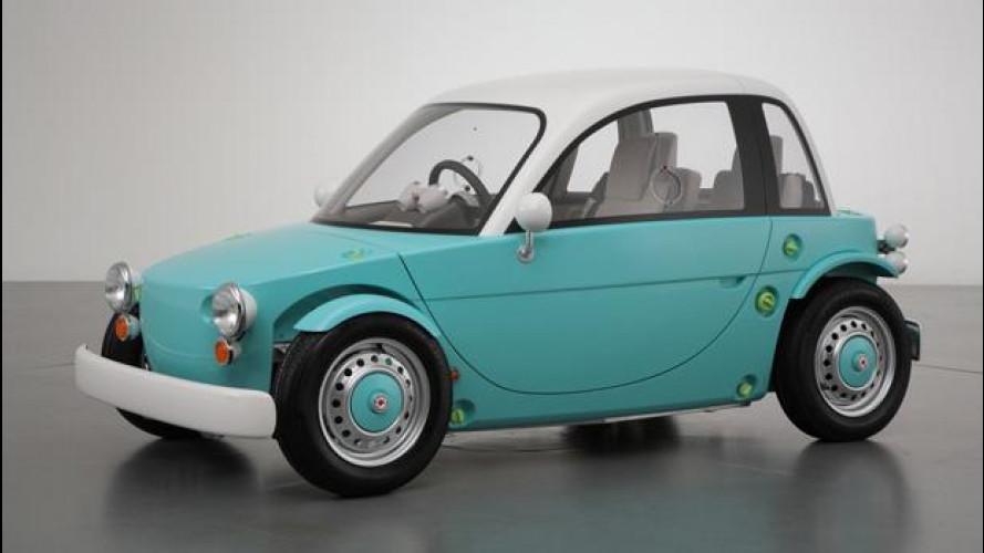 Toyota Camatte concept, l'auto per i più piccoli