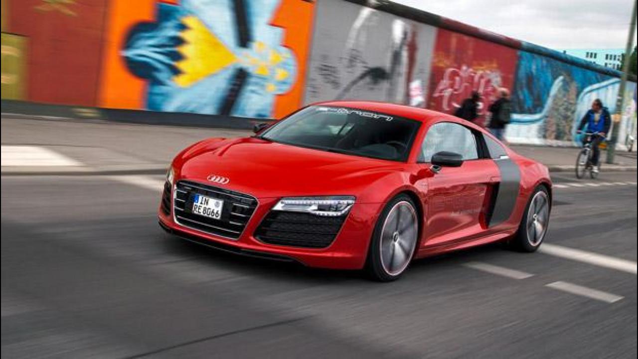 [Copertina] - Audi R8 e-tron: nessuna produzione in serie