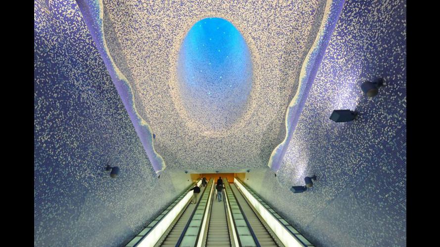Metropolitana, la stazione più bella del mondo è a Napoli