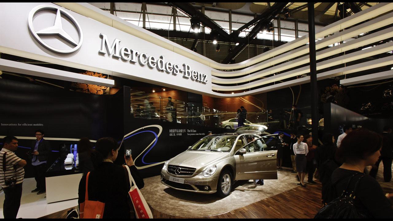 Mercedes al Salone di Shanghai 2009