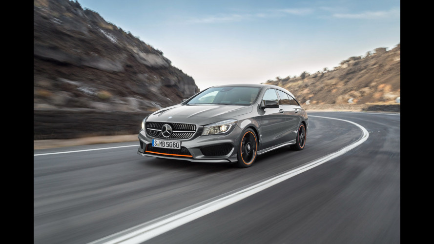 Mercedes CLA Shooting Brake, la familiare coupé è servita