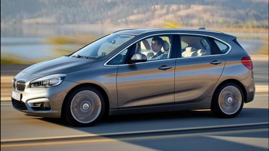BMW Serie 2 Active Tourer, la differenza dei numeri pari