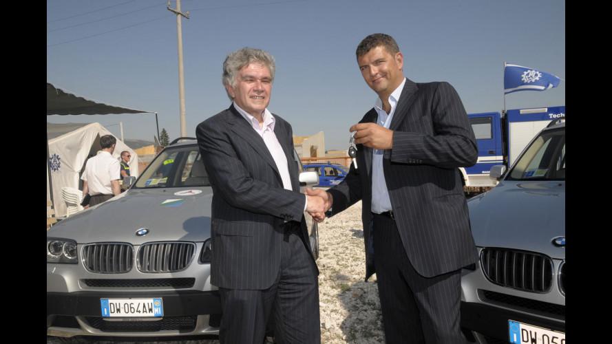 Dieci BMW X3 2.0d per la Regione Abruzzo