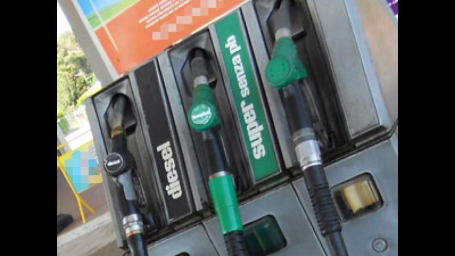 Prezzi benzina: i primi aumenti del 2013