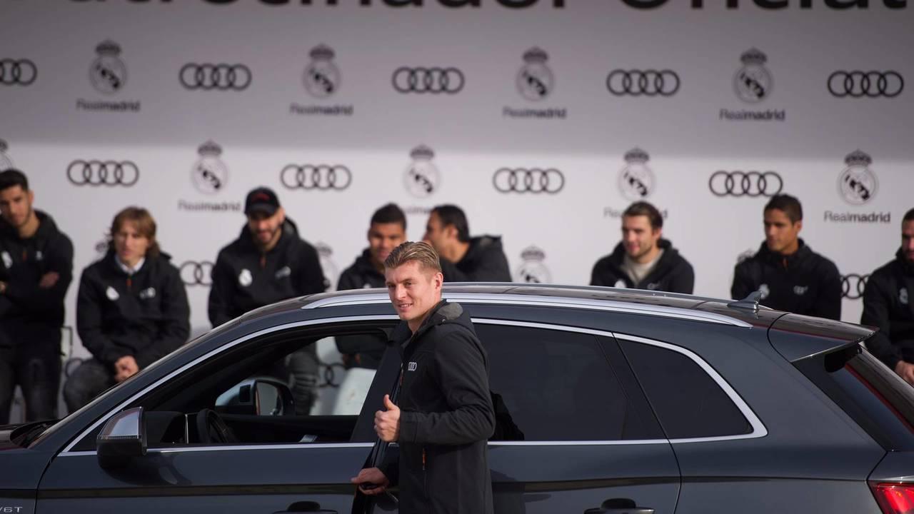 Toni Kroos (#8) - Audi SQ5 TFSI