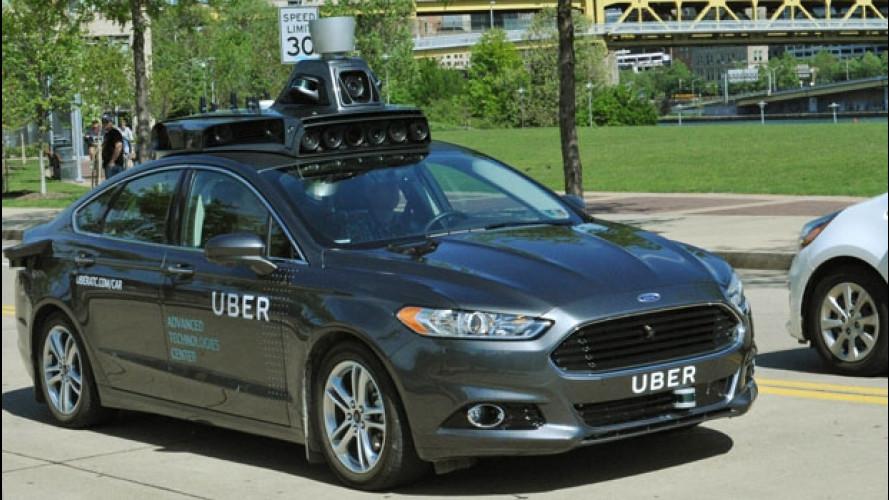 "Uber sperimenta la ""sua"" auto a guida autonoma"