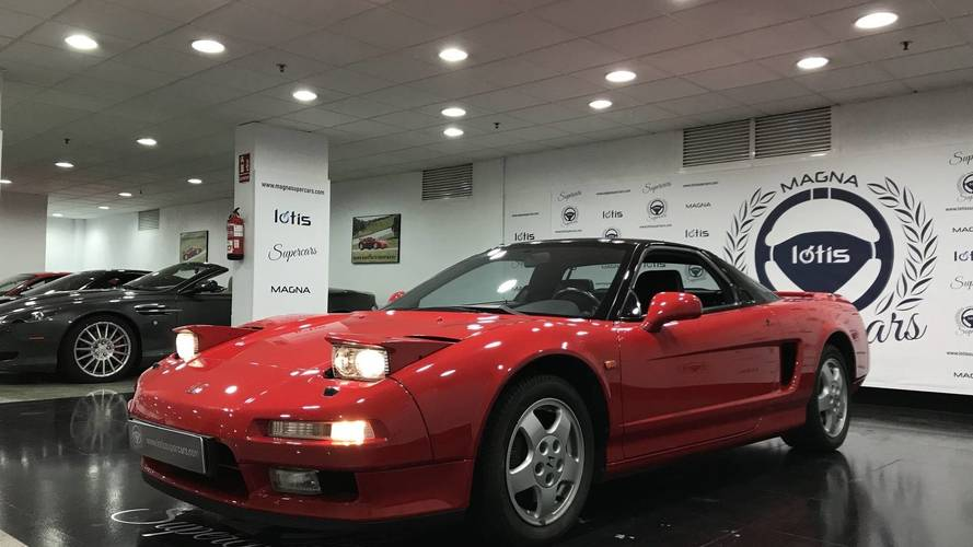 1992 Acura NSX In Tip-Top Shape Up For Grabs At $85,500