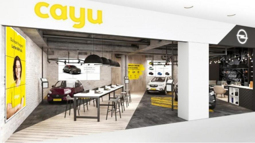 Opel Cayu, il concessionario virtuale nei centri commerciali