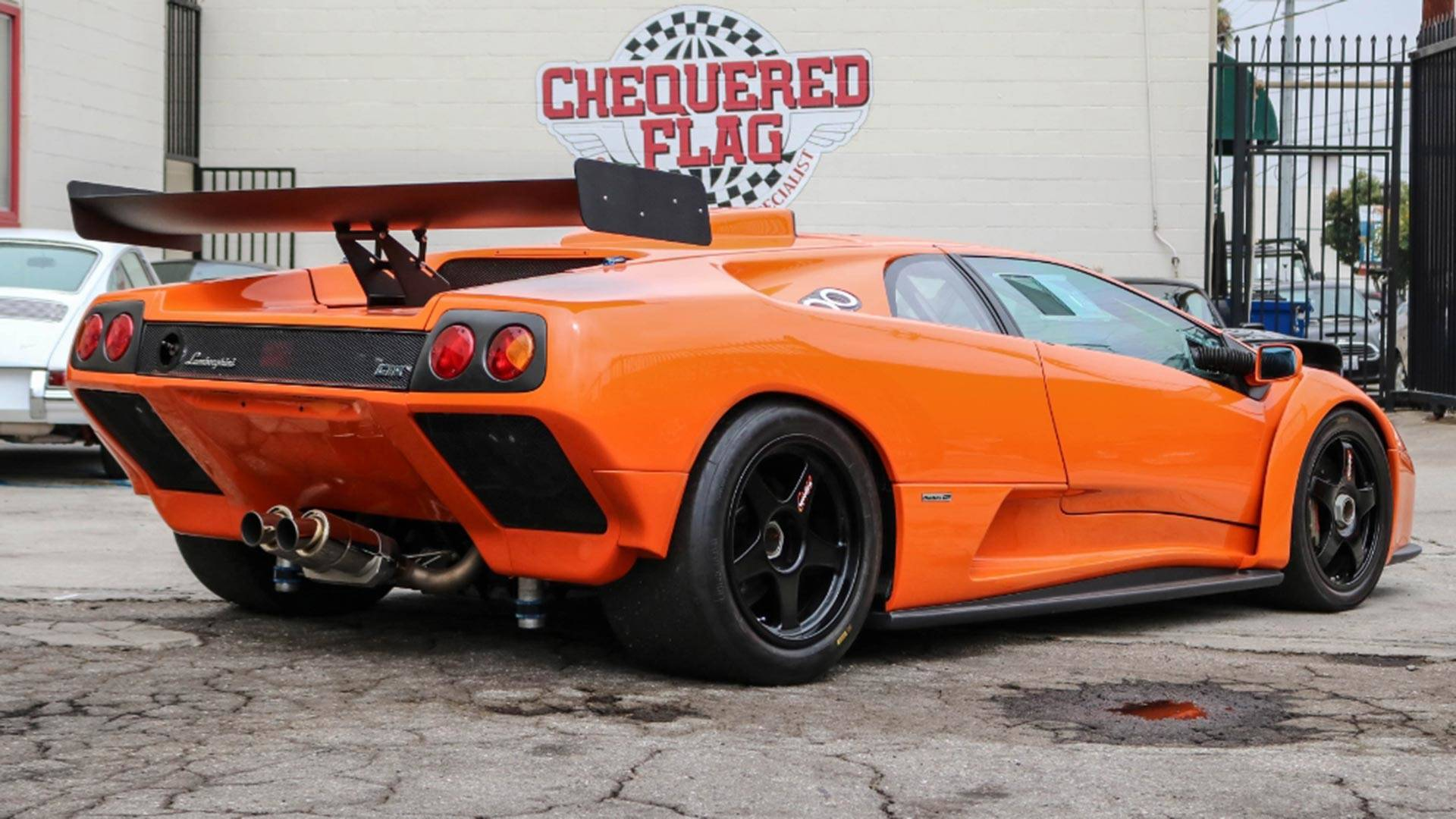 Lamborghini Diablo Gtr Will Make You A Track Day King For 645k