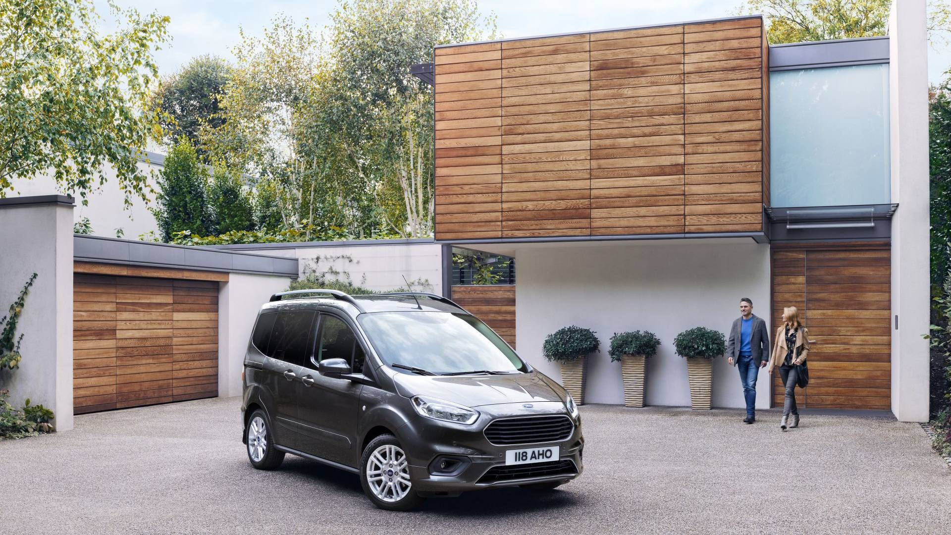 2018 ford tourneo courier photos. Black Bedroom Furniture Sets. Home Design Ideas