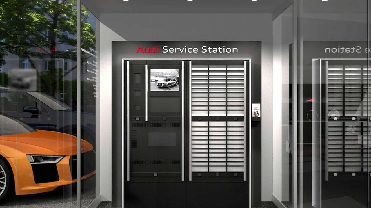 Audi Service Station