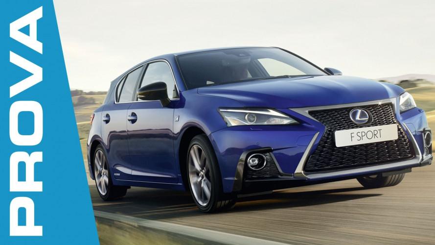Lexus CT Hybrid 2018, cambia dove conta di più