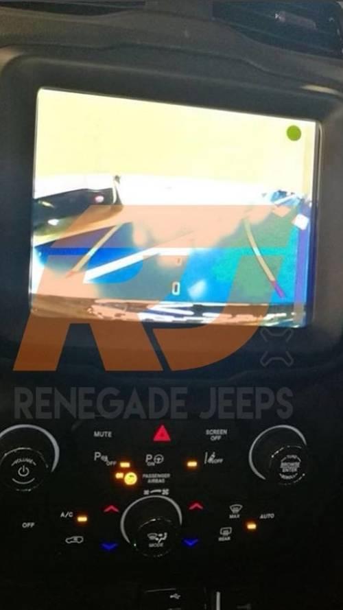Photos volées Jeep Renegade restylée 2018