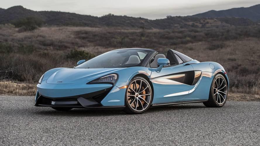 McLaren 570S Spider é lançado no Brasil por R$ 2,2 milhões