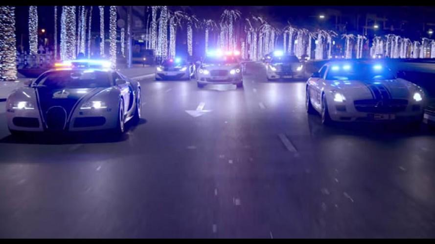 Vídeo: Polícia de Dubai faz produção de cinema com superviaturas