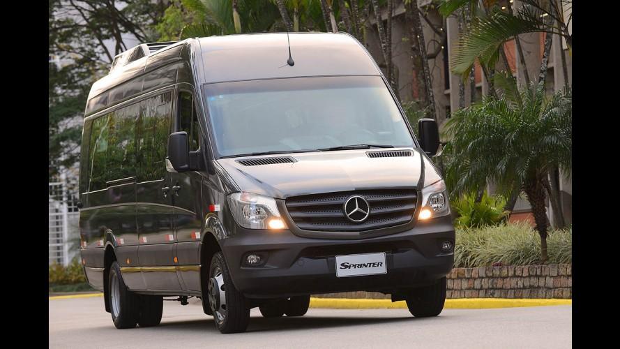 Novo Mercedes Sprinter tem faróis direcionais e até assistente de ventos laterais