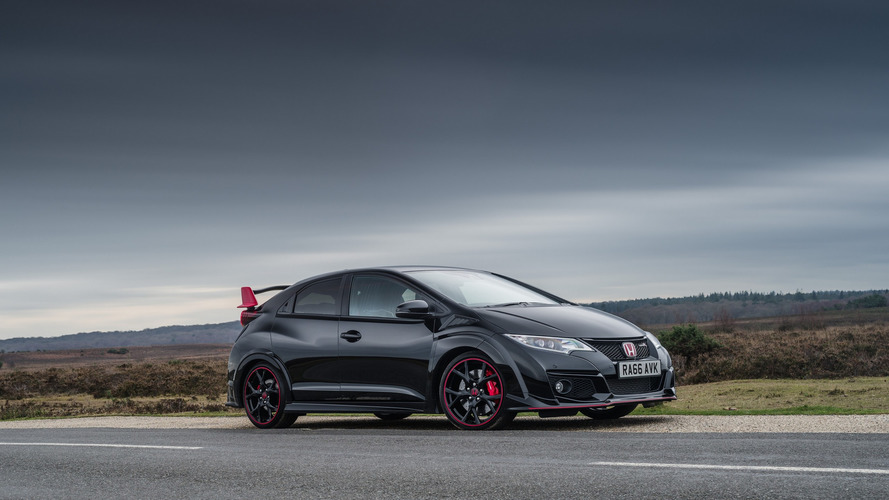 Honda Civic Type R, İngiltere'ye Black Edition ile veda ediyor