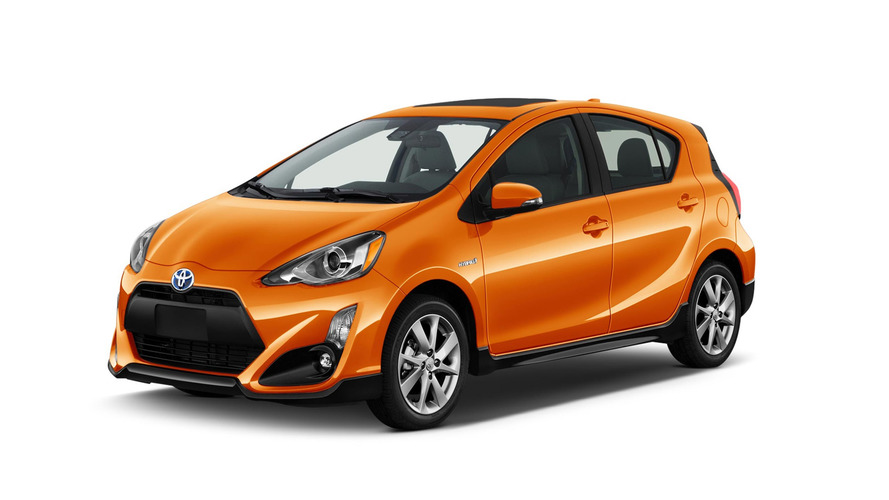 Wonderful 2017 Toyota Prius C Facelift Makes Hybrid Hatchback Sportier And Safer
