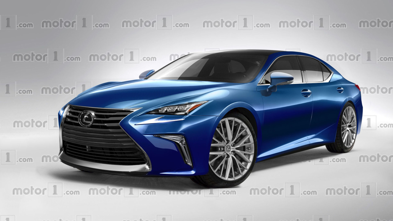 2018 Lexus LS speculative render