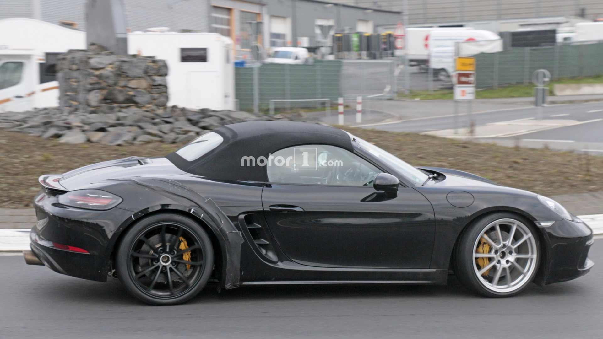 Looks Like Porsche Is Out Ring Testing The 718 Boxster Gts
