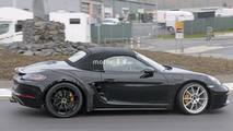 2018 Porsche 718 Boxster GTS spy photo