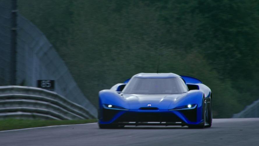 Nio EP9'u Nürburgring'de elektrikli araç rekoru kırarken izleyin