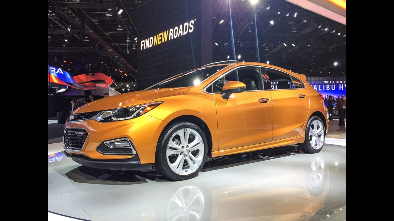 Novo Chevrolet Cruze Hatch vai custar a partir de US$ 22.190 nos EUA