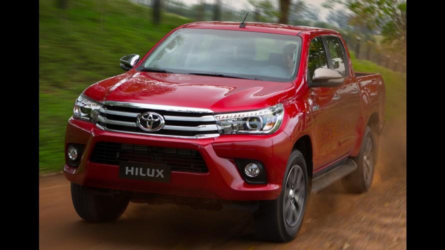 Recall: Toyota convoca nova Hilux no Brasil por problema nos airbags