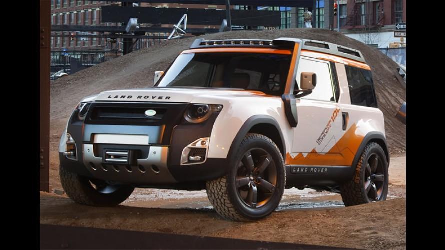 Novo Land Rover Defender estreia em 2018 com cinco opções de carroceria