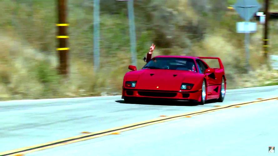Ferrari F40  Jay Leno