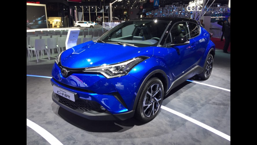 Paris: Toyota C-HR