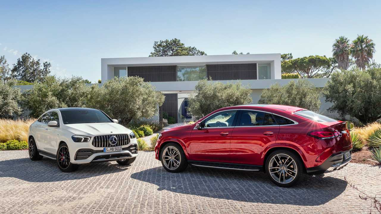 2021 Mercedes Gle Coupe Amg Gle 53 Debut Updated Design And
