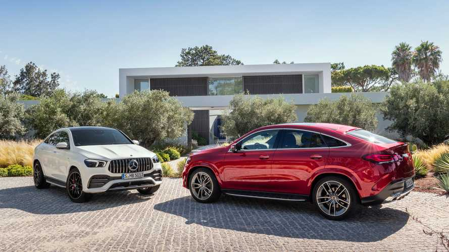 2021 Mercedes GLE Coupe, AMG GLE 53 revealed with updated design
