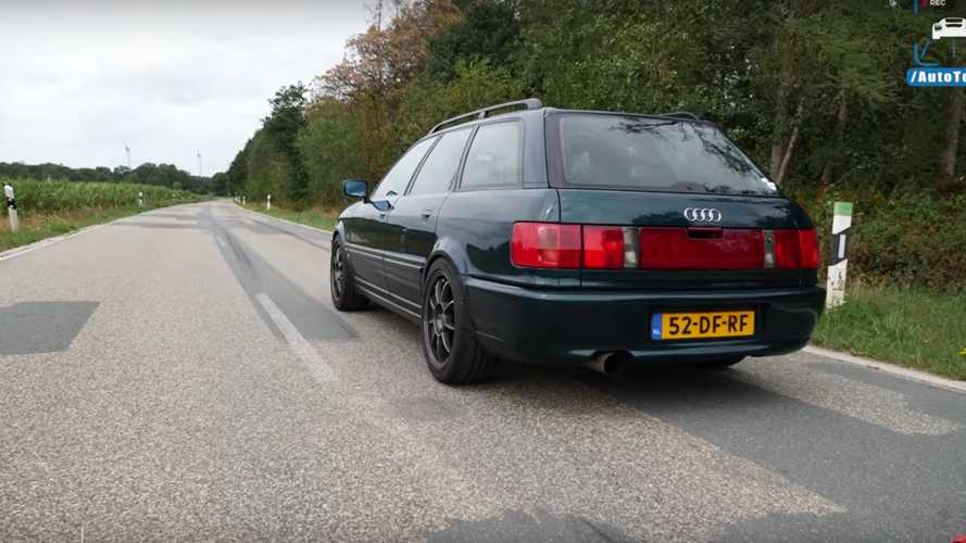 709-HP Audi S2 And 540-HP RS4 Avants Accelerate Like A Cheetah