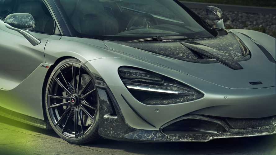 McLaren 720S Spider gets carbon fibre dose from Novitec