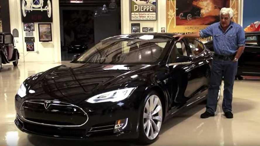 Jay Leno Is A Huge Tesla Fan