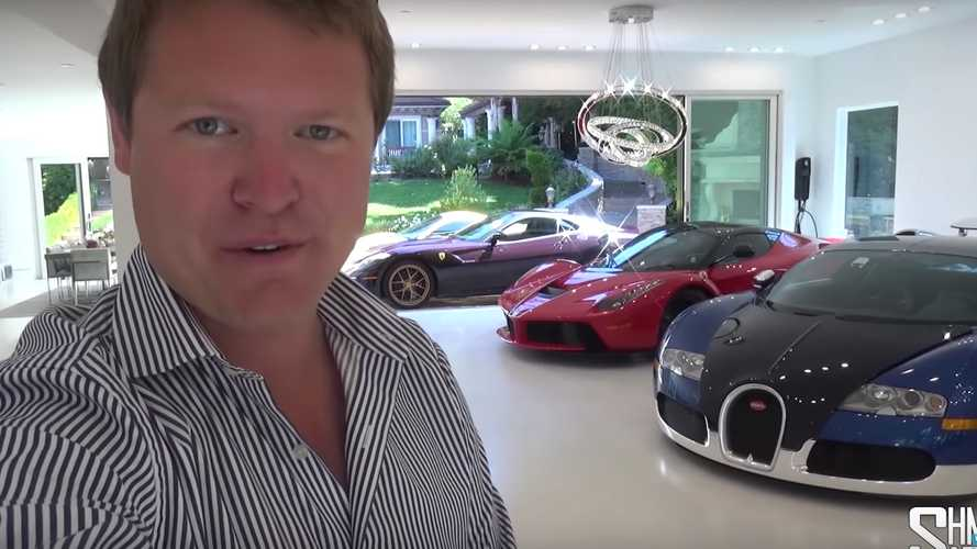 This Living Room Houses A LaFerrari, 599 GTO, And A Veyron