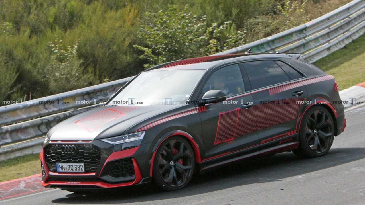 Photo espion Audi RS Q8