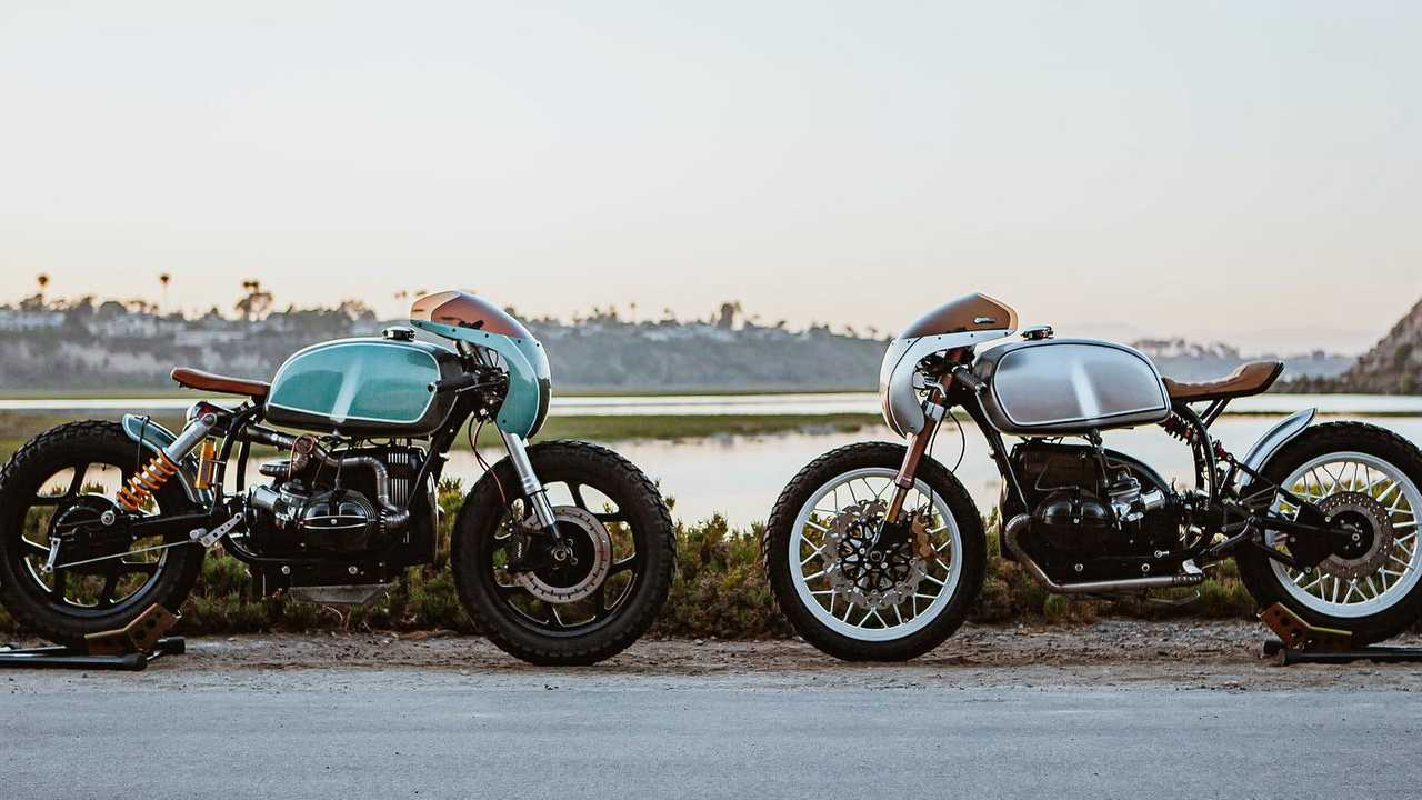 Upcycle Garage Twin R100s