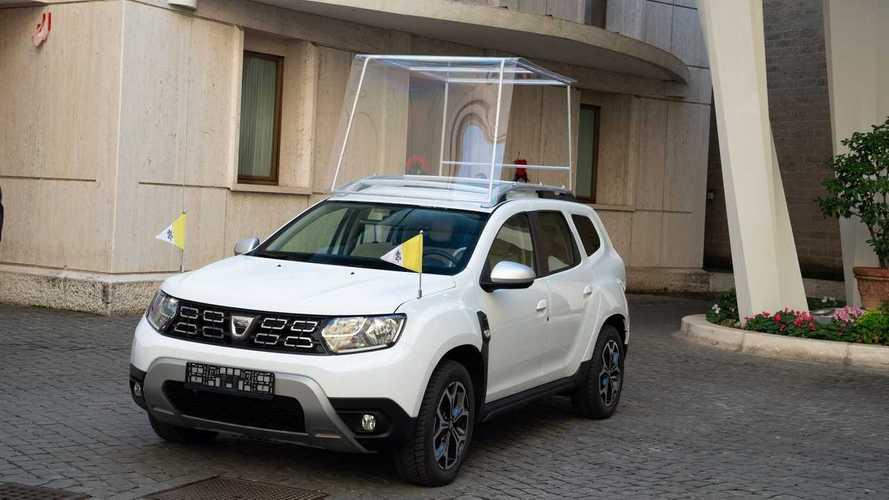 Una Dacia Duster per Papa Francesco