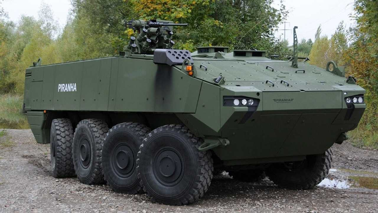 Armored Personnel Carriers That Resemble Tesla Truck