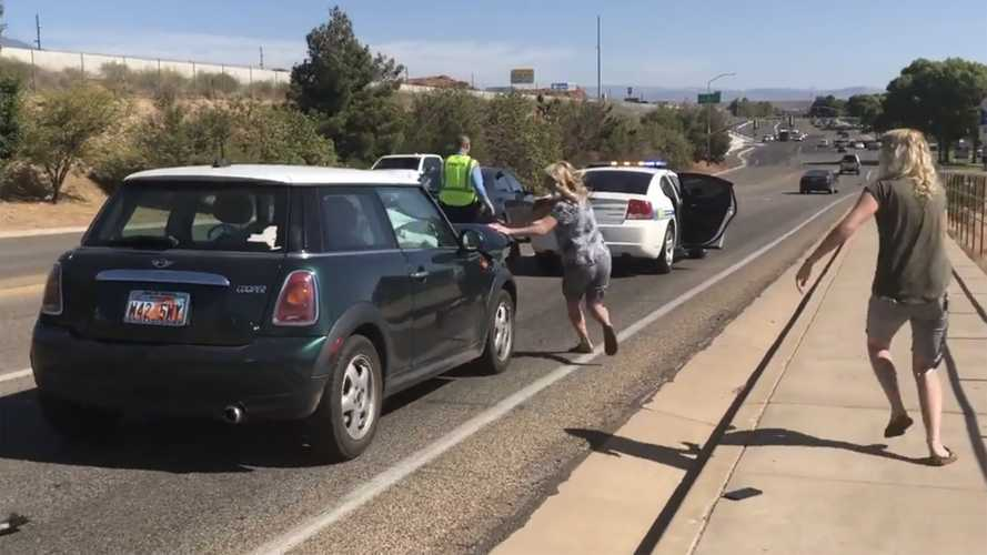 Wait For It: Utah Fender Bender Has Unhappy Ending For Police