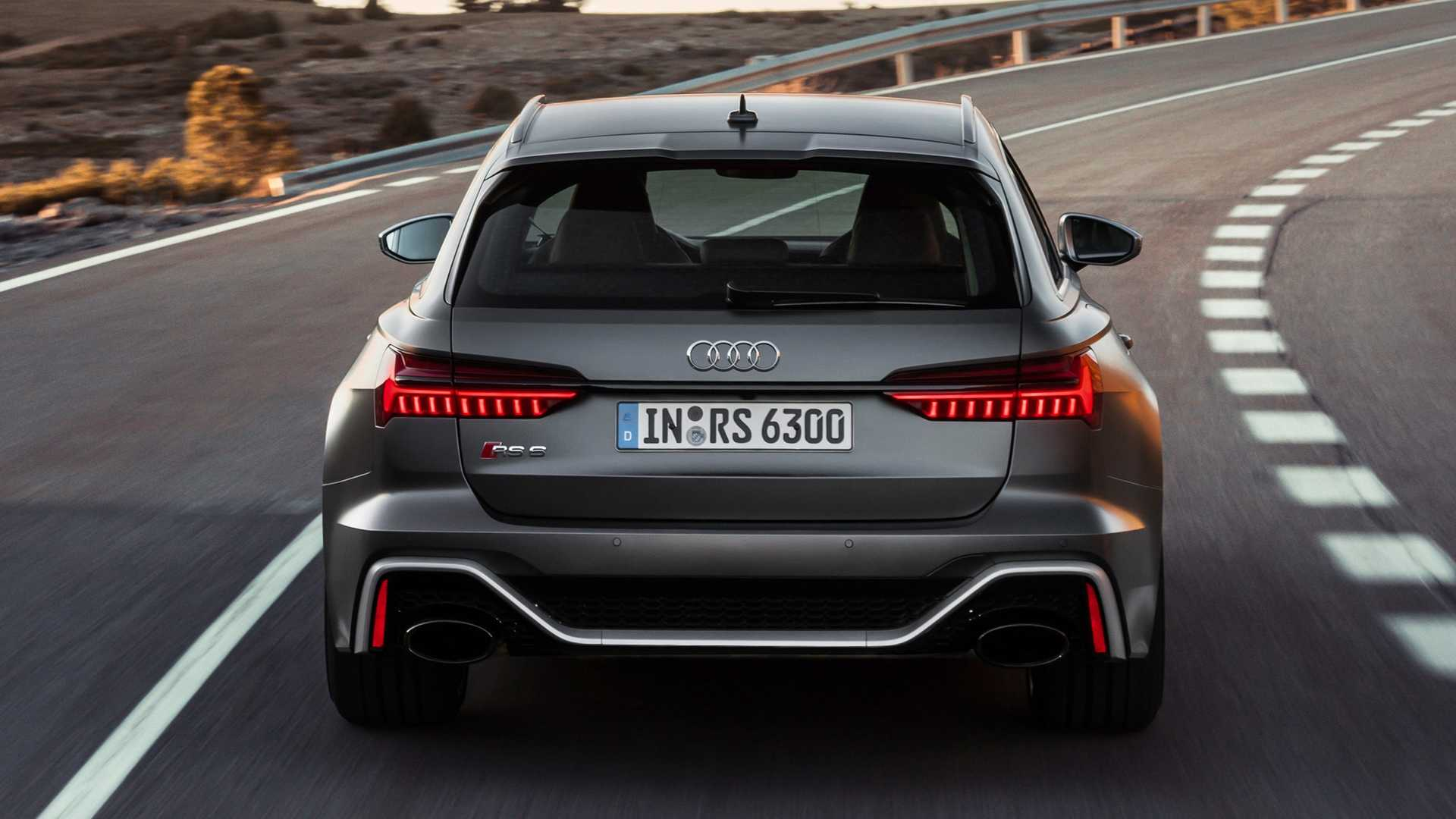 2020 Audi RS6 Avant official footage offers 20 minutes of joy