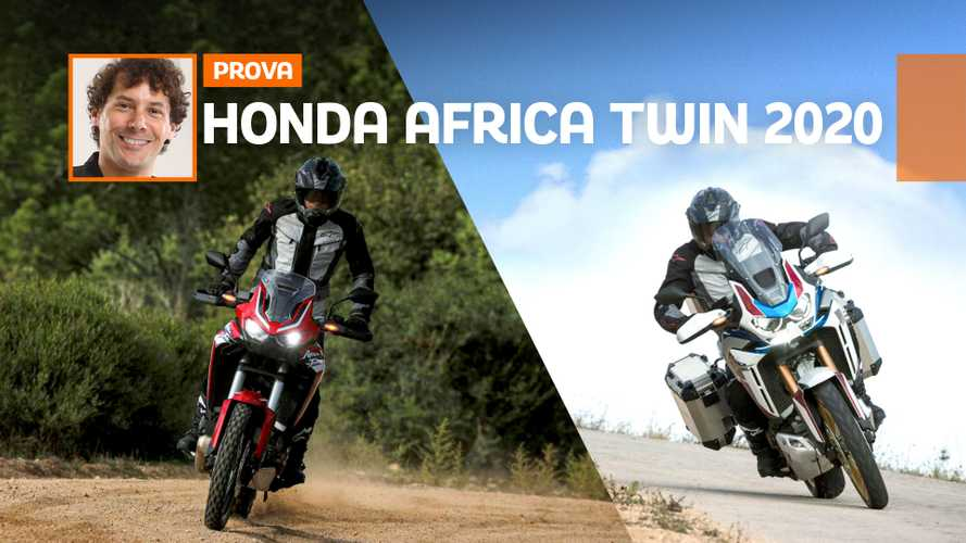 Honda CRF1100L Africa Twin 2020 - TEST