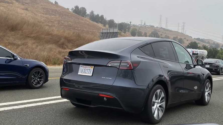 Overload Of Pre-Production Tesla Model Y Crossover Sightings: Images