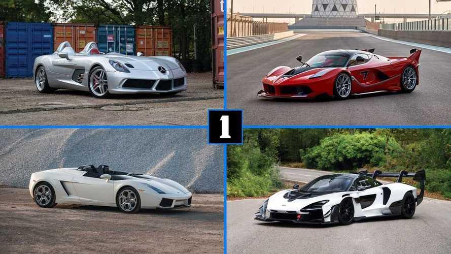 Enchères - 18 voitures à plus d'un million d'euros à Abu Dhabi ?