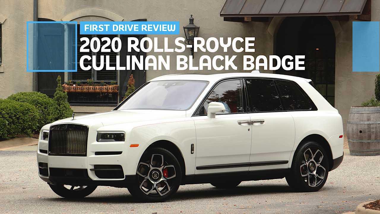 2020 Rolls-Royce Cullinan Black Badge: First Drive